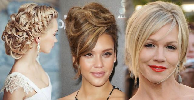 Avrupalı Bayanların Özel Günlerde Tercih Ettikleri Saç Modelleri