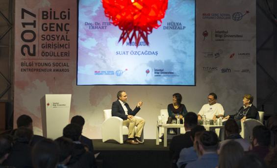 Bilgi Genç Sosyal Girişimci Ödülleri Sahiplerini Buldu